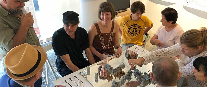 Playing Game of War with Class Wargames founder Richard Barbrook