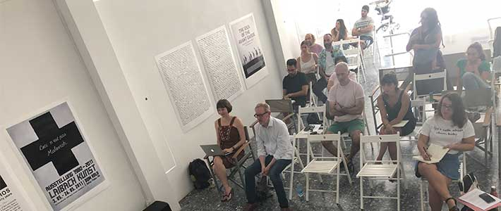 The idea of the avant garde - seminar