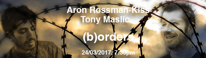 Tony Maslic and Aron Rossman-Kiss