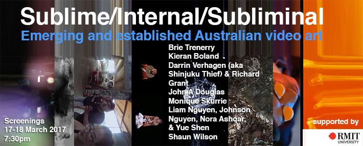 Emerging and established Australian video art