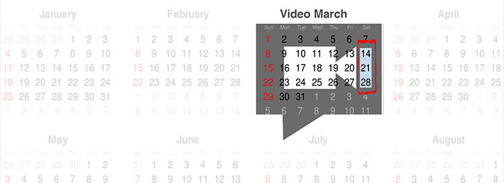 video march
