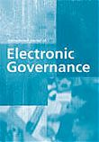 2018 - International Journal of Electronic Governance