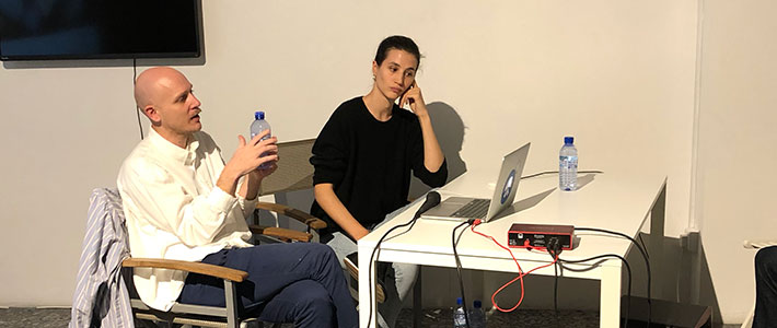 Jonas Lund and Elisa Lasowski