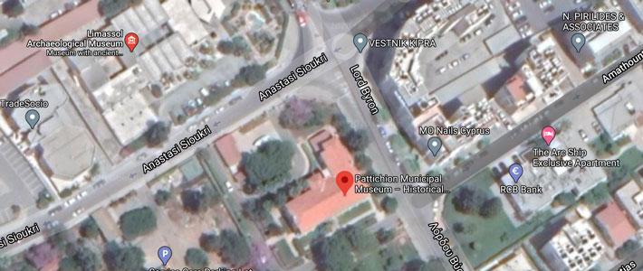 Limassol Archives location