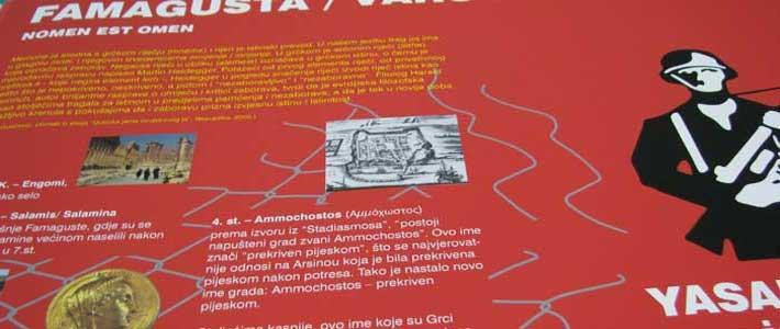 Famagusta posters in zagreb