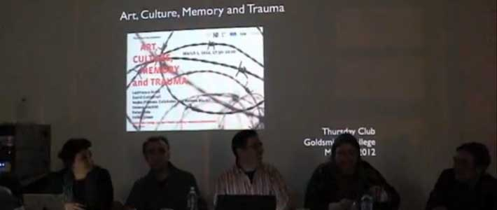 art culture memory and trauma