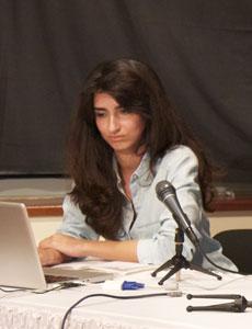 Through the rodablocks, Sharmeen Syed