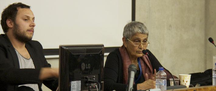 Through the rodablocks, Gayatri Chakravorty Spivak