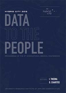 2015 - Hybrid City 2015 - Data to the People - Conference Proceedings