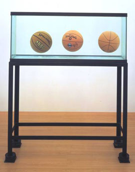 Jeff Koons, Three Ball Total Equilibrium Tank