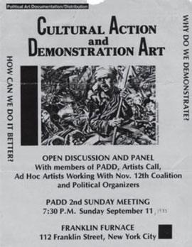 PAD-D public event flyer