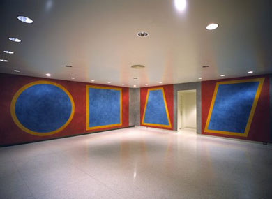 Four Geometric Figures in a Room