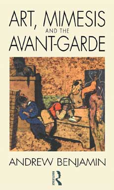 art mimesis and the avant garde