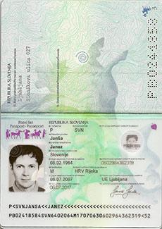 Passport Booklet spread