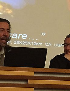 Scale matters:  Lanfranco Aceti  and Ioannis Michaloudis